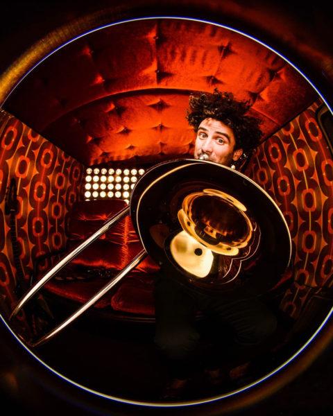 Eric Tarantola (trombón boca)